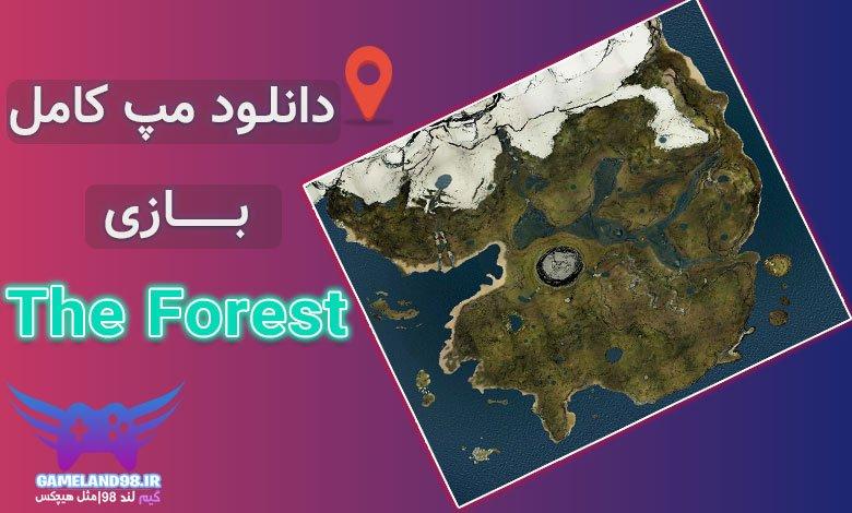 دانلود مپ بازی The Forest