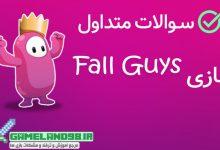 عکس از سوالات متداول بازی Fall Guys