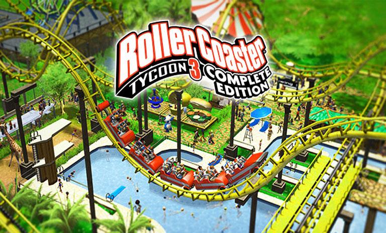آموزش دانلود رایگان بازی RollerCoaster Tycoon 3