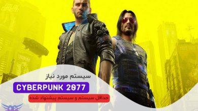 عکس از سیستم مورد نیاز Cyberpunk 2077