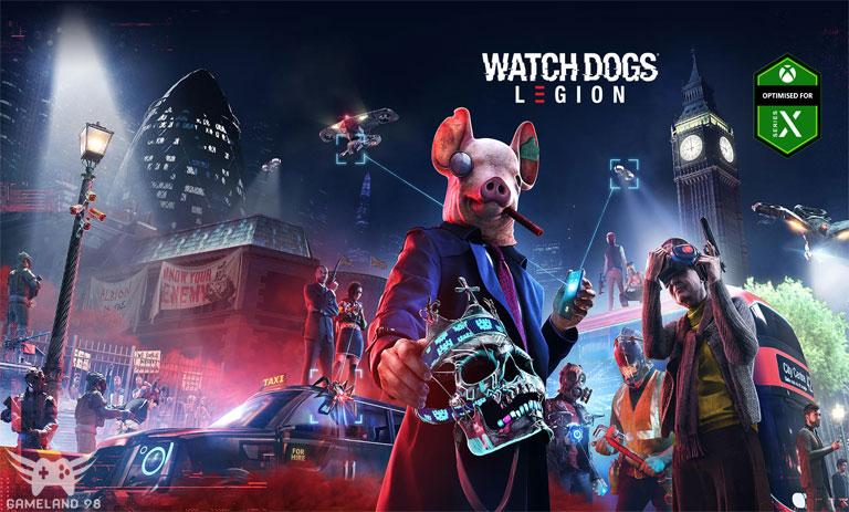 عکس از سیستم مورد نیاز Watch Dogs Legion
