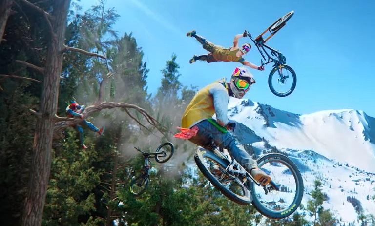 عکس از یوبیسافت بازی Riders Republic را معرفی کرد
