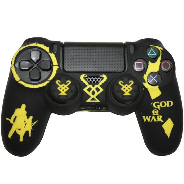 محافظ دسته پلی استیشن 4 مدل god of war G03 به همراه روکش آنالوگ