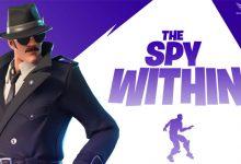 عکس از آموزش چلنج ها و کوئست های Spy Within فورتنایت