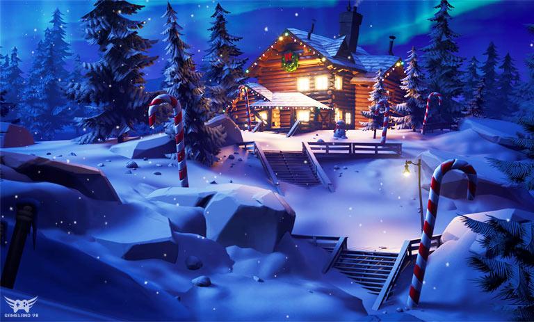 کریسمس 2020 فورتنایت