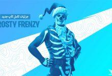 عکس از جزئیات کامل کاپ Frosty Frenzy فورتنایت