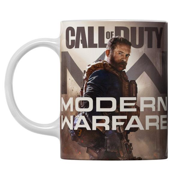 ماگ طرح بازی Modern Warfare مدل سرامیکی