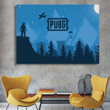 تابلو شاسی گالری استاربوی طرح بازی PUBG مدل Amazing Game 2