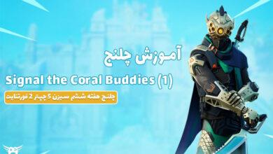 عکس از آموزش چلنج Signal The Coral Buddies